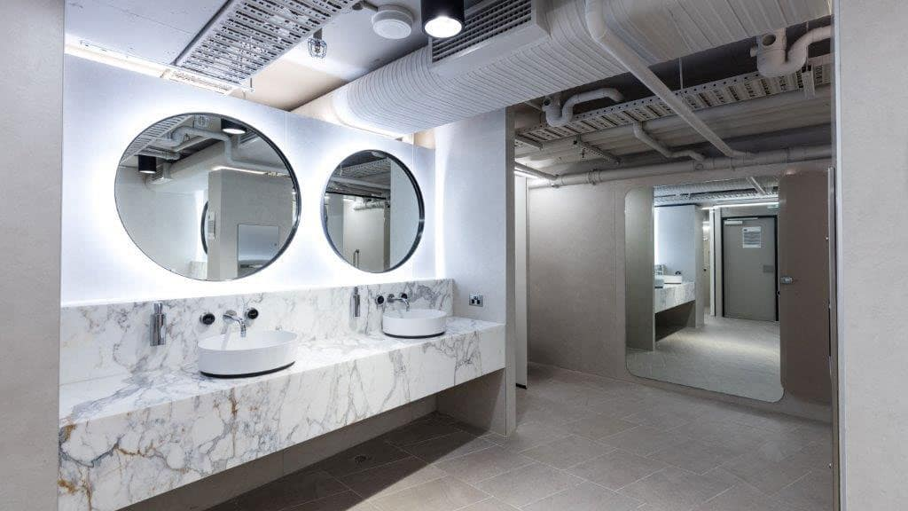 EOT facilities for a Sydney building refurbishment